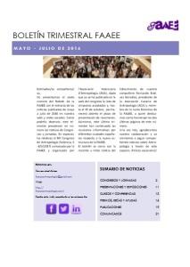 Boletín trimestral 6
