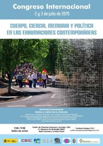 Cuerpo ciencia memoria y política