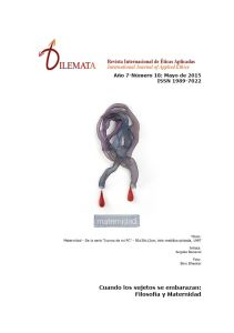 revista Dilemata_maternidad