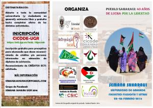 Jornadas pueblo saharaui