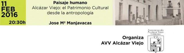 Conferencia Patrimonio cultural desde la antropología