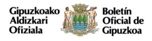 Boletín Oficial Gipuzcoa