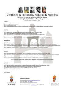 Curso conflictos de la historia